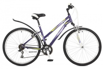"Велосипед Stinger 26"" Element lady; 17""; фиолетовый; TZ30/TY21/TS38 #117303"
